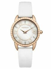 Morgan M1185WG Ladies White Mother Of Pearl Dial Designer Watch Gift Boxed