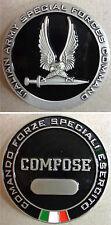 """Fermacarte Commemorativo """"COMFOSE - COMANDO FORZE SPECIALI ESERCITO"""" (Originale)"""