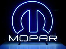 "Brand New Mopar Car Parts Real Glass Tube Beer Bar Neon Light Sign 16""x14"""