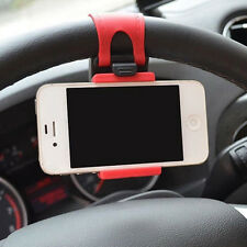 CAR ACCESSORIES UNIVERSAL CAR STEERING WHEEL MOBILE PHONE HOLDER BRACKET iPHONE