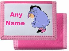 Personalised Eeyore Style Wallet/Purse *Pink/Blue/Black/Red *Mayzie Designs®