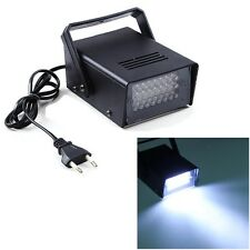 Mini 3W 24 LED Strobe Light Operated DJ Disco Party Club Stage Lighting Effects