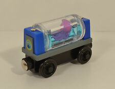 "3.25"" Sodor Aquarium Octopus Tanker Wood Magnet Train Car Thomas The Tank Engine"