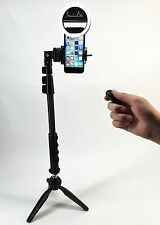 SOCIALITE Mini LED Photo Video Ring Fill Light Kit  - Tripod Stand Selfie Stick