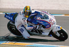 Karel Abraham mano firmato CARDION AB MOTOGP 12x8 PHOTO 11.