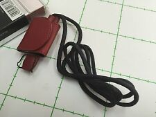 LEICA CARRYING STRAP WITH ACCESSORY CASE FOR C-LUX 2, RED, REF: 18682 -NEW