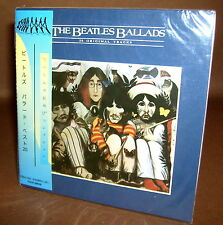THE BEATLES THE BEATLES BALLADS CD mini lp Obi NEW Sealed