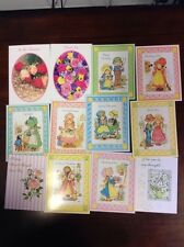 Mixed Lot Of Multi Color 12 Greeting Cards With Mixed Themes & Occassions