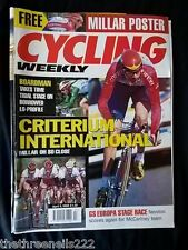 CYCLING WEEKLY - CRITERIUM INTERNATIONAL - APRIL 3 1999