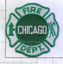 Illinois - Chicago IL Fire Dept Patch v6 - Green - Irish