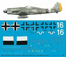 Peddinghaus 1/32 Fw 190 D-9 Markings Peter Crump 13./JG 26 Varrelbusch 1945 3216