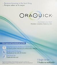 5 Pack Orasure OraQuick Advanced HIV-1 and HIV-2 Home Test Kit FDA Approved