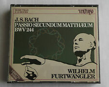 FURTWANGLER /J.-S. BACH Matthaus passion(1954) HOLLAND 3CD box VIRTUOSO (1989I)