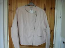 "BNWT Plus Size 28 Faux Leather Jacket""Fully Lined""Length 27 inch""56""inchBust"