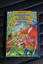 Emilio Salgari - Sandokan alla Riscossa - Prima edizione Peruzzo 1991 Illustrato