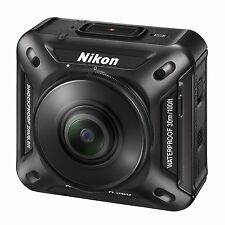 Nikon waterproof action camera KeyMission 360 BK Black Now on Sale !!