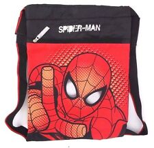 "Marvel Spider-Man String Velcro Bookback Backpack 20"" Diagonal NWT FREE SHIPPING"