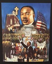 ~ 100 Martin Luther King  ~ Vintage Poster / Print 16 x 20