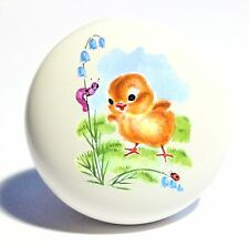 BABY CHICK CHICKEN HOME DECOR CERAMIC KITCHEN  KNOB DRAWER CABINET PULL