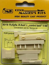 CMK 1/48 Pz.Kpfw. III Ausf. L Control Tank Conversion Set for Tamiya # 8019