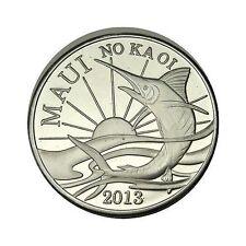 elf Hawaii Maui 2 Dollars 2013 Sunrise   Swordfish  Fish