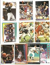 (10) 1992 Auburn University Tigers Alumni Cards NO DUPES! Barkley Bo Jackson