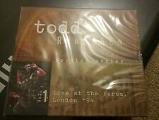 Todd Rundgren - Bootleg Series, Vol. 1 (Live at the Forum, London '94) 2CD. NEW