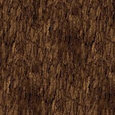 Brown Tree Bark #81-36 Naturescapes Stonehenge Quilt Fabric by the 1/2 yard