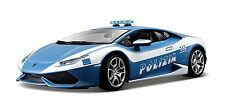 Bburago 1:18 Scale Lamborghini Huracán Polizia Diecast Vehicle Colors May Vary