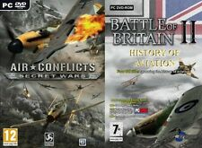 Battle britain 2+F/A-18+first eagles+strike fighters gold & air conflicts secret