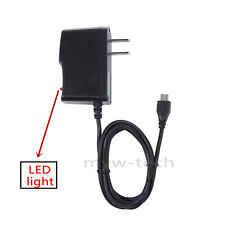 5V 2A Micro USB AC Adapter Wall Charger DC Power Cord for Mach Speed Trio Tablet