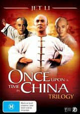 Once Upon A Time In China Trilogy (DVD, 2007, 3-Disc Set)