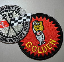 Corvette Racing Team Super Sports Iron-on Patch: Esso Oil Golden Boy (Item#2)