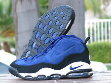 NIKE AIR MAX UPTEMPO BLUE/BLACK/WHITE  (311090-400) SIZE 13