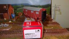 RIVAROSSI HR6311.1 carro FS Italia tipo Hcs con mantici, livrea rosso vagone