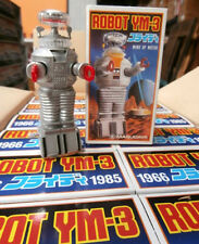"WHOLESALE 36 VINTAGE MASUDAYA ROBOT YM-3 WIND UP TOY LOST IN SPACE 4.5"" TALL!"