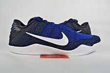 NEW Nike Kobe XI 11 Elite Low MARK PARKER MUSE RACER BLUE 822675-014 sz 9.5