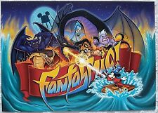 RARE 1998 DISNEY WDW DISNEY MGM STUDIOS FANTASMIC CAST PREVIEW UNUSED INVITATION