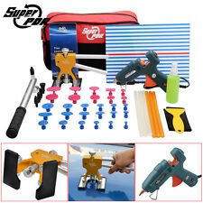 AUTO CAR PDR TOOLS PAINTLESS DENT REMOVAL REPAIR TOOL DENT LIFTER GLUE GUN SET