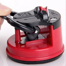 New Secure Knife Sharpener Grinder Scissors Suction Chef Pad Kitchen Useful Tool