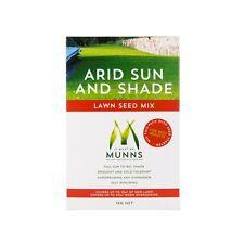 Munns 1kg Arid Sun And Shade Lawn Seed Mix