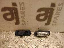 TOYOTA AVENSIS D4D GS 2.0 2001 NUMBER PLATE LIGHTS (PAIR) NO BULBS