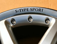 Wheel Rim Decal - Jaguar S-TYPE SPORT