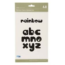 "Quickutz ""4 x 8 RAINBOW Classic Alphabet Set"""