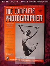 RARE The COMPLETE PHOTOGRAPHER Issue 18 Volume 3 1942
