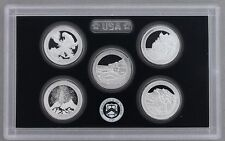 2012 US MINT 5 COIN AMERICA the BEAUTIFUL SILVER PROOF QUARTER SET