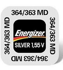 1 Battery BUTTON ENERGIZER 364, SR621SW, AG1, V364 1,55 Volt Knopfzellen Battery