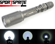 TrustFire CREE T6 LED 5 Mode 1600 Lumens 7.4V 2x18650 Zoomable Focus Flashlight