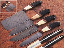EST CUSTOM MADE DAMASCUS BLADE 4Pcs. CHEF/KITCHEN KNIVES SET DC 1010