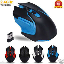 3200DPI 6 Keys 2.4GHz Wireless Optical Gaming Mouse Mice For Computer PC Laptop